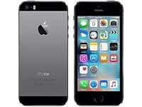 iPhone 5's 16GB space Grey unlocked and boxed