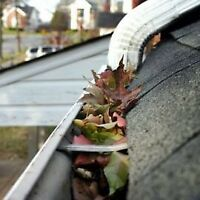 Eaves trough Cleaning and Repair