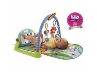 **BRAND NEW IN A box **Fisher Price Kick & play baby piano gym