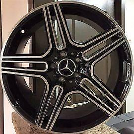 SALE! Brand New MERCEDES BENZ AMG REPLICA ALLOY WHEELS; 19 5x112 Bolt Pattern  N.76; ```1 Year Warranty```