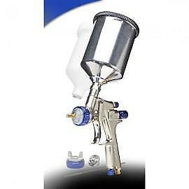 HVLP Paint Gun w/3 tips Metal Cup