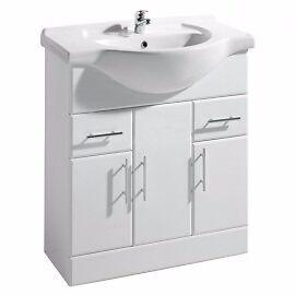 White Vanity Unit £140.14