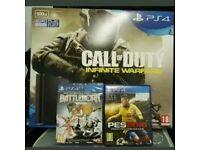 Playstation 4 Slim 500 Gb Call Of Duty Infinite Warfare Bundle And 2 Games