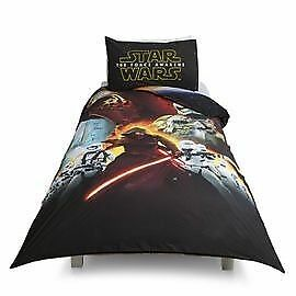 Star Wars Episode VII Single Duvet Set, reversible design: Brand new still in packaging