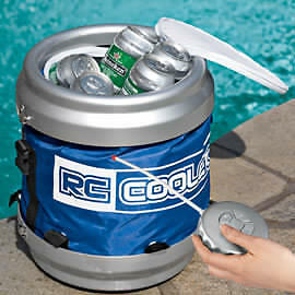 BNIB Remote Control Robotic Drink Cooler - $25