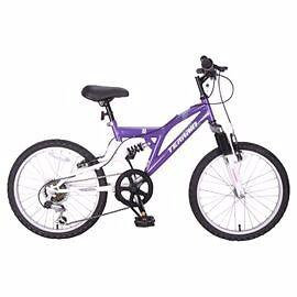 GIRLS Purple Mountain Bike 7+ years 14-Inch Dual Suspension * BRAND NEW* BEXLEY KENT