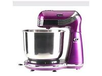 purple metallic mixer