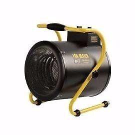 Olympus OLY-J9/3 JetHeat Industrial Electric Fan Heater With Thermostat (9Kw/30000Btu) 415V~50Hz
