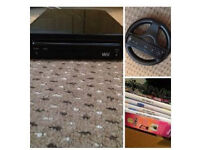 Black Nintendo Wii with box