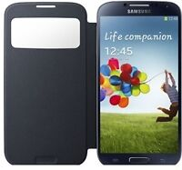 Samsung Galaxy S4 Flip Cover S-View Case - ONLY $5 SALE!