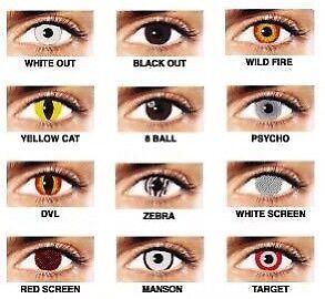 Halloween contacts!!