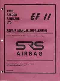 Ford Falcon / Fairlane / LTD 1995 Factory Manual Supplement Blacktown Blacktown Area Preview