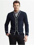 Banana Republic Mens Cardigan
