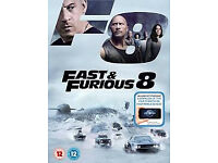 Fast & Furious 8 DVD with Digital Download