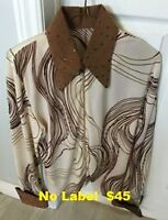 Western Show Shirts with BLING - Hobby Horse, etc.... XL