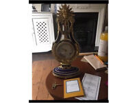Stunning Marie Antoinette mantel clock NOT WORKING