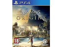 Assassins Creed Origins PS4 Like New