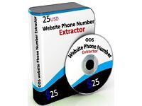 Extract phone numbers in bulk from websites