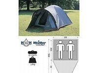 Rocky 2, 2 man tent in Red and grey.
