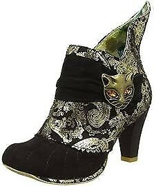 Irregular Choice Women's Miaow Ankle Boots limited edition size 8 or 41 BRAND NEW IN BOX
