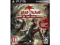 Dead Island Game of the year edition PS3 game