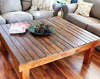 CUSTOM BUILT COFFEE TABLES - BEAUTIFUL - CHOOSE STYLE
