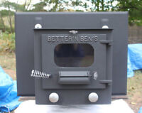 Foyer Better'N Ben's antique / Vintage wood stove