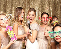 PHOTO BOOTHS FOR ONLY $395 FOR 4 HOURS WITH UNLIMITED PRINTS!