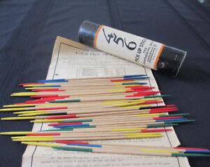Vintage 1930s 456 Pick Up Sticks
