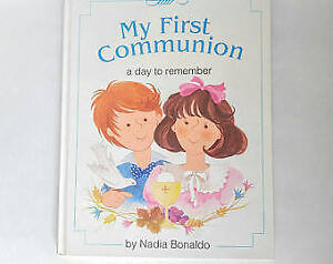 My First Communion Book: Remembrance Book Hardcover