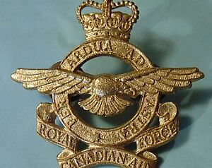 LOST- Military Service badge- Brass hat badge- RCAF