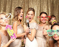 PHOTO BOOTHS ONLY $395 FOR 4 HOURS WITH  UNLIMITED PRINTS!