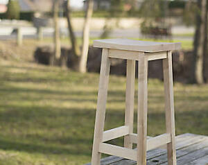 Looking for 2 wooden stools.