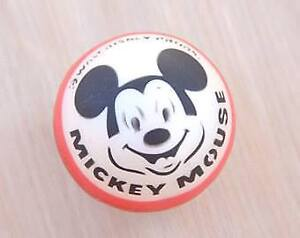 REDUCED*RARE Vintage Mickey Mouse Rubber Bounce Ball*STILL AVAIL