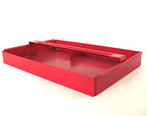 Metal or aluminium tool trays - old or vintage
