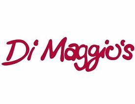 Waiting staff for Di Maggio's Airdrie