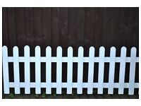 White Pickett Fence