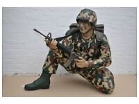 Army Soldier prop