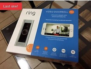 Ring Wifi Video Doorbell PRO-Brand New in Box!! LAST ONE