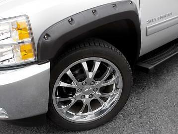 FOR DODGE RAM 2500  RX205T Fender Flares Rivet Style Textured Trim 2010-2014