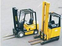 I AM LOOKING FOR DAYSHIFT OR EARLY MORNING FORKLIFT WORK