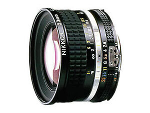 Brand New Unused Nikon Ais Nikkor 20mm F2.8 Wide Angle Manual Lens Ai S MF