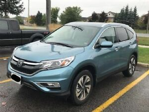 2016 Honda CR-V Touring SUV - Free Lease Takeover(All fees paid)