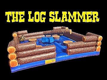 LOG SLAMMER / WIPE OUT GAME3hrs Hire from $550.