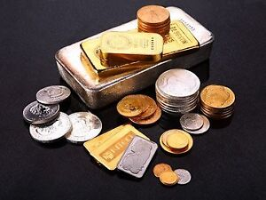 We buy & sell GOLD & SILVER bullion, bars, coins & scrap!