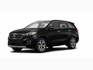 2016 Kia Sorento AWD 3.3L SX+ 7-Seater w/Navigation lease
