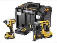 Dewalt Brushless SDS + DCF887 Kits