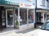 Versatile retail premises to let in the popular market town Ruthin