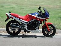 HONDA VF500 WANTED - COMPLETE BIKE WITH V5 - CASH WAITING
