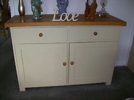 Sideboard, Oak top